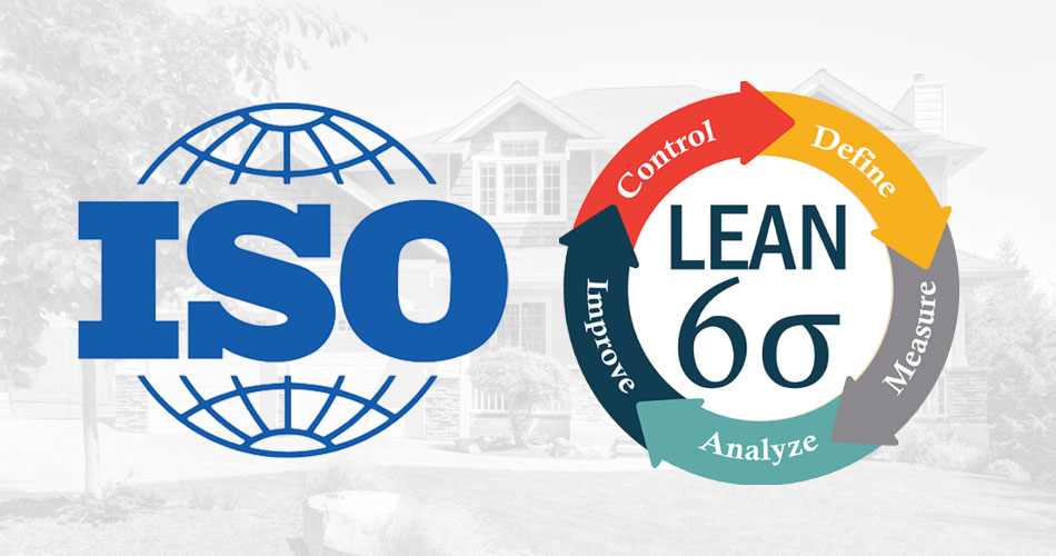ISO and lean six sigma certified