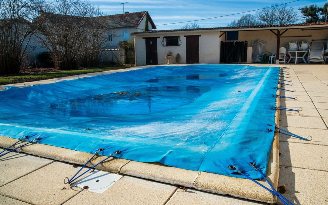 winterize your pool and then cover it for the season