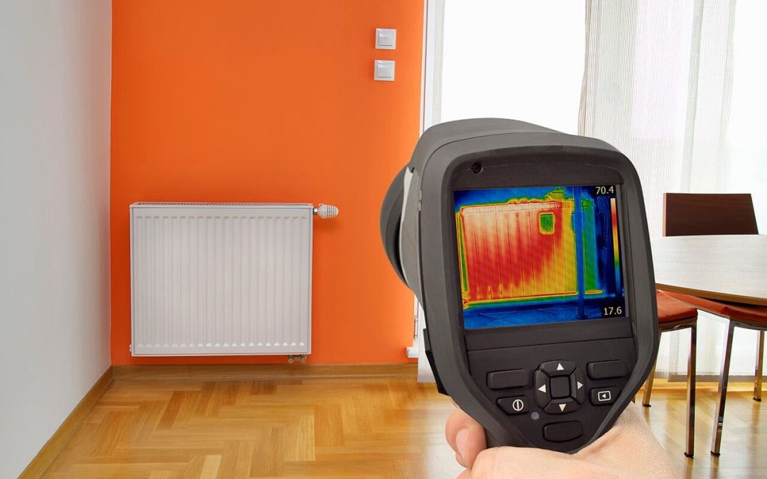 thermal imaging in home inspections detects difference in temperature that can indicate problems